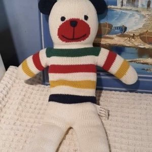 Hudson Bay woollen teddy bear: